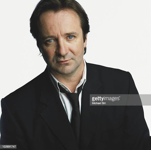 Actor Neil Pearson poses for a portrait shoot in London UK