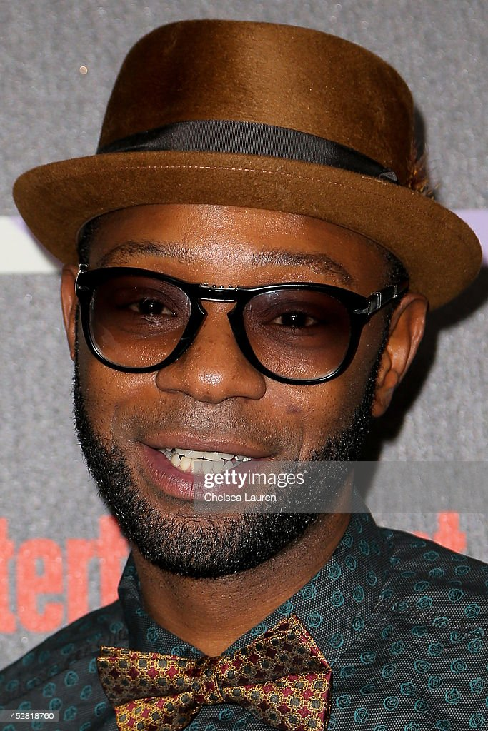 Actor Nelsan Ellis arrives at Entertainment Weekly's Annual Comic Con Celebration at Float at Hard Rock Hotel San Diego on July 26 2014 in San Diego...