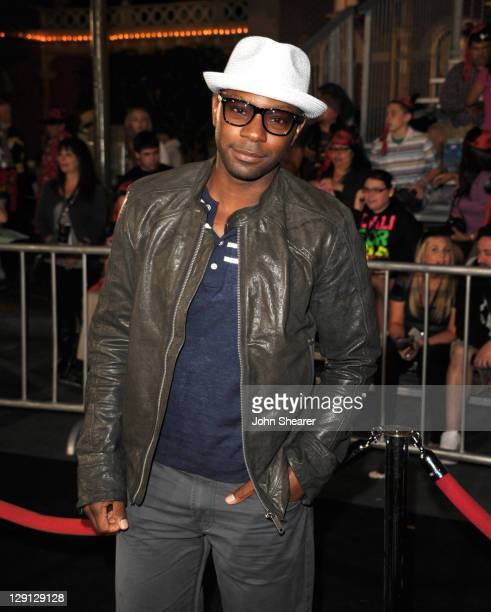Actor Nelsan Ellis arrives to the 'Pirates Of The Caribbean On Stranger Tides' World Premiere at Disneyland on May 7 2011 in Anaheim United States