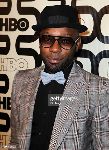 Actor Nelsan Ellis attends HBO's Official Golden Globe Awards After Party held at Circa 55 Restaurant at The Beverly Hilton Hotel on January 13 2013...