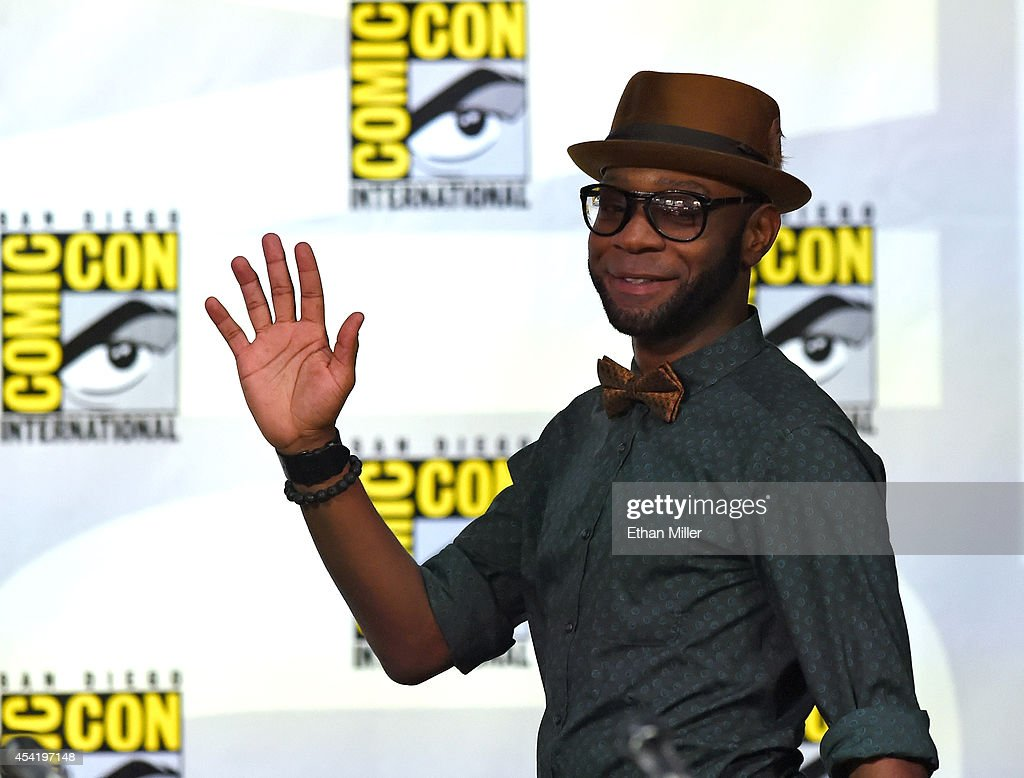 Actor Nelsan Ellis attends HBO's 'True Blood' panel during ComicCon International 2014 at the San Diego Convention Center on July 26 2014 in San...