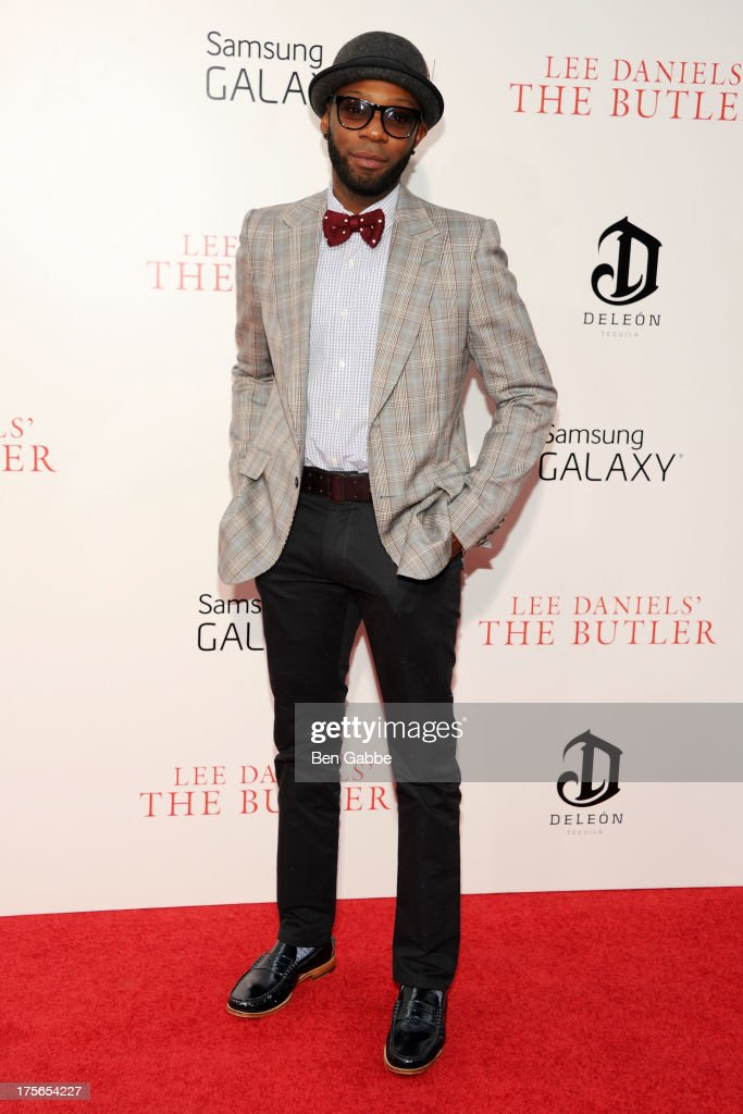 Actor Nelsan Ellis attends Lee Daniels' 'The Butler' New York Premiere at Ziegfeld Theater on August 5, 2013 in New York City.