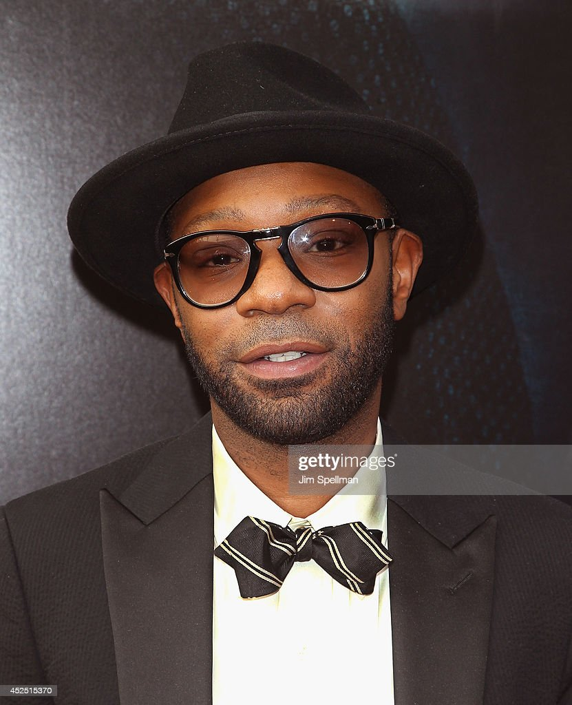 Actor Nelsan Ellis attends the 'Get On Up' premiere at The Apollo Theater on July 21 2014 in New York City