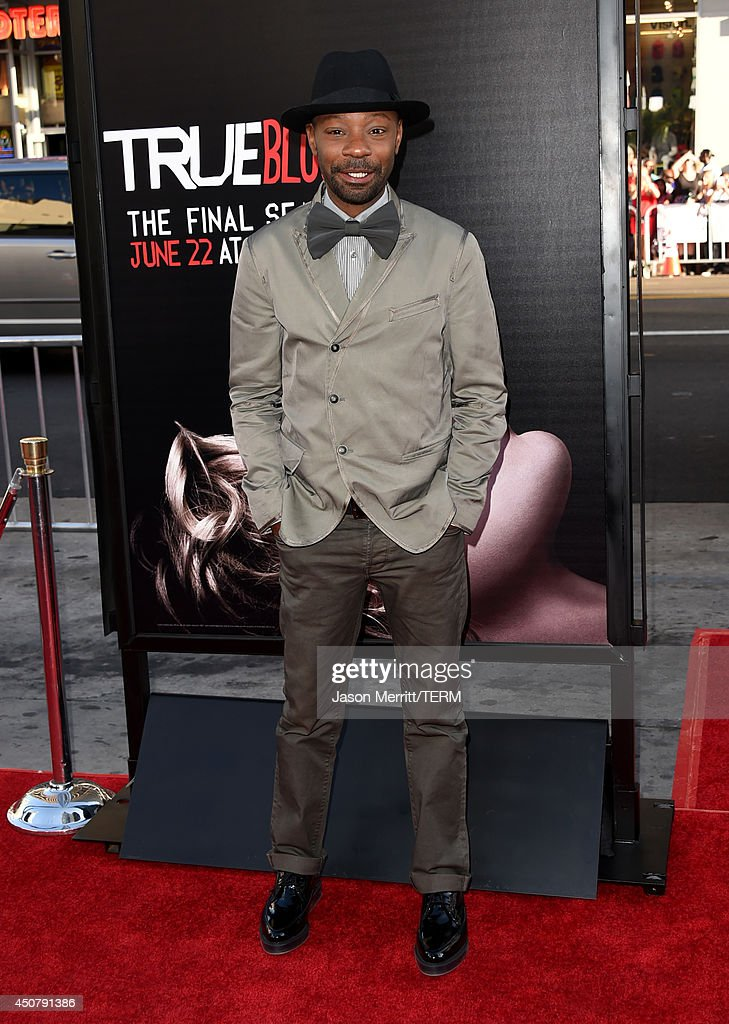 Actor Nelsan Ellis attends the premiere of HBO's 'True Blood' season 7 and final season at TCL Chinese Theatre on June 17 2014 in Hollywood California