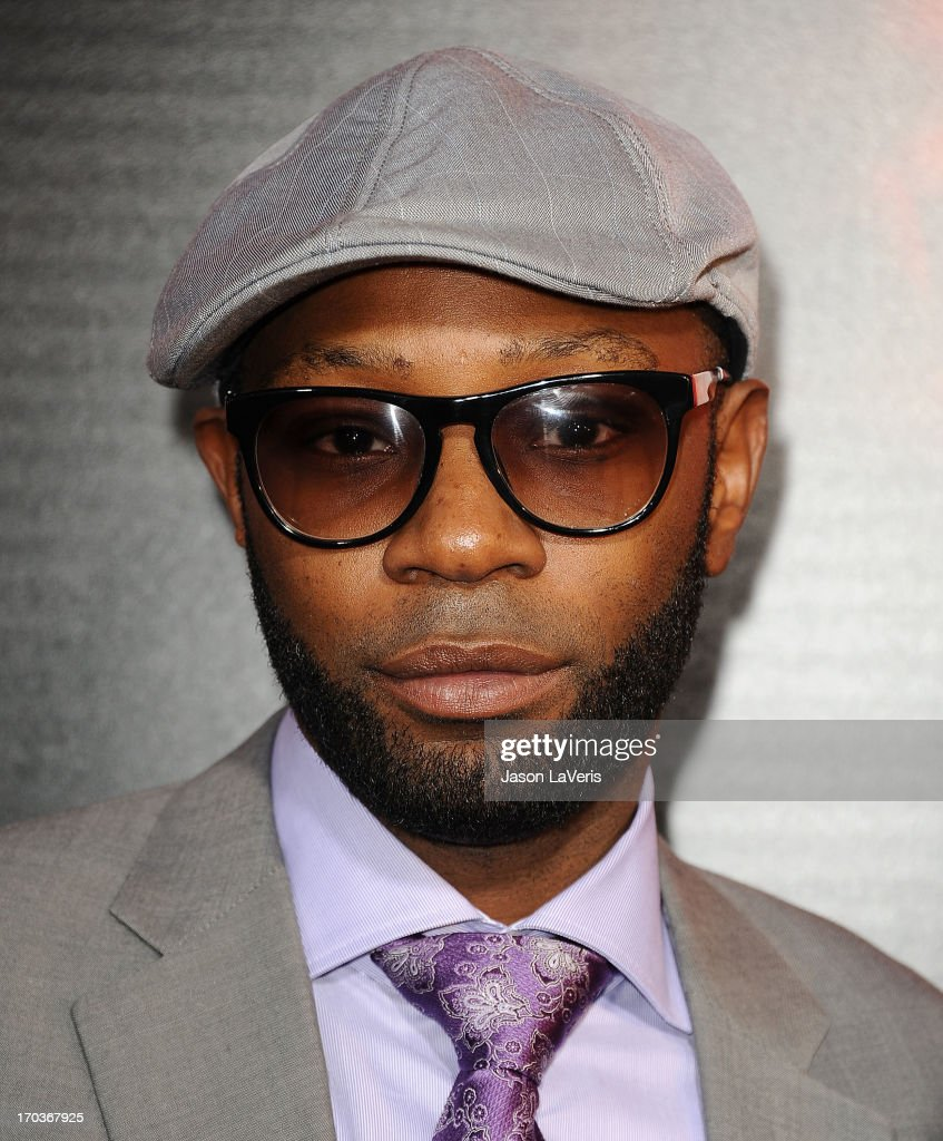Actor Nelsan Ellis attends the season 6 premiere of HBO's 'True Blood' at ArcLight Cinemas Cinerama Dome on June 11, 2013 in Hollywood, California.