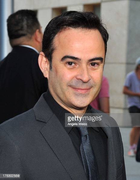 Actor Nelson Ascencio arrives at the Screening of Magnolia Pictures' 'I Give It A Year' at ArcLight Hollywood on August 1 2013 in Hollywood California
