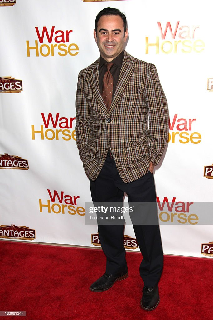 Actor Nelson Ascencio attends the 'War Horse' Los Angeles opening night held at the Pantages Theatre on October 8, 2013 in Hollywood, California.