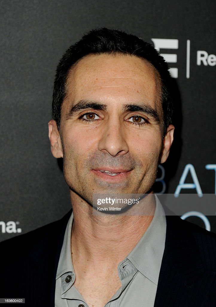 Actor <a gi-track='captionPersonalityLinkClicked' href=/galleries/search?phrase=Nestor+Carbonell&family=editorial&specificpeople=683517 ng-click='$event.stopPropagation()'>Nestor Carbonell</a> arrives at the premiere of A&E Network's 'Bates Motel' at Soho House on March 12, 2013 in West Hollywood, California.