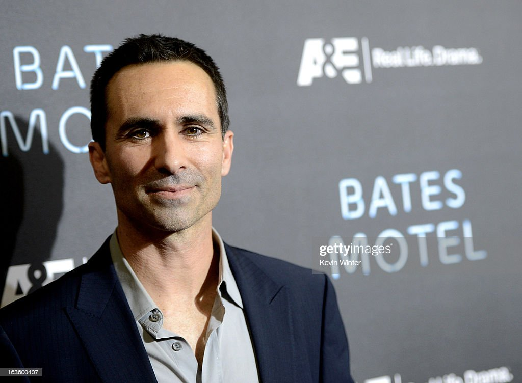 Actor Nestor Carbonell arrives at the premiere of A&E Network's 'Bates Motel' at Soho House on March 12, 2013 in West Hollywood, California.