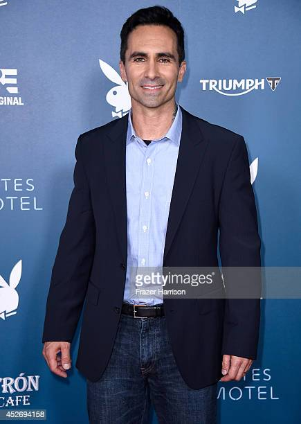 Actor Nestor Carbonell attends Playboy and AE 'Bates Motel' Event during ComicCon International 2014 on July 25 2014 in San Diego California