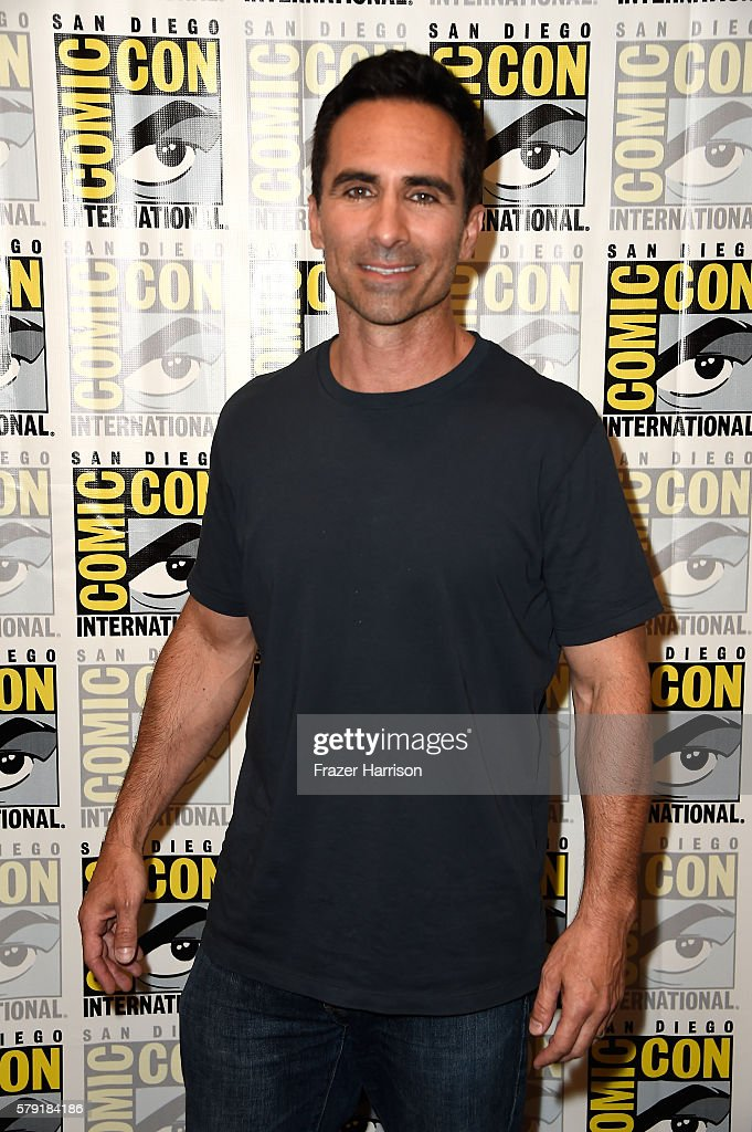 Actor Nestor Carbonell attends the 'Bates Motel' press line at Hilton Bayfront on July 22, 2016 in San Diego, California.
