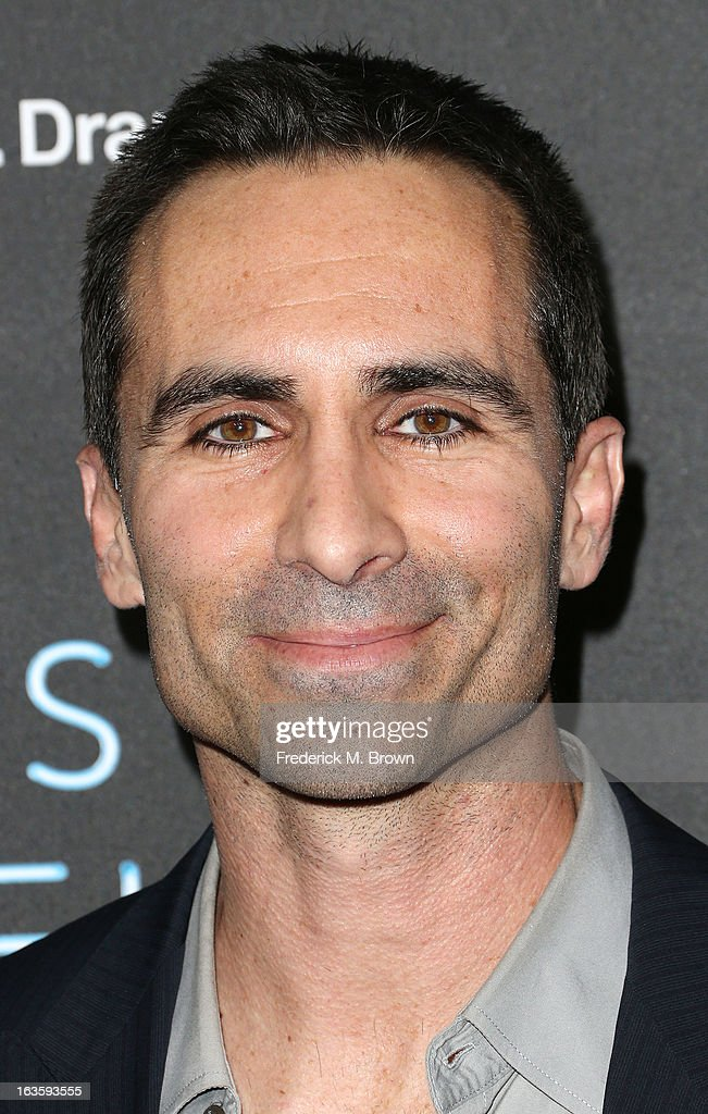 Actor <a gi-track='captionPersonalityLinkClicked' href=/galleries/search?phrase=Nestor+Carbonell&family=editorial&specificpeople=683517 ng-click='$event.stopPropagation()'>Nestor Carbonell</a> attends the Premiere of A&E Network's 'Bates Motel' at the Soho House West Hollywood, on March 12, 2013 in West Hollywood, California.