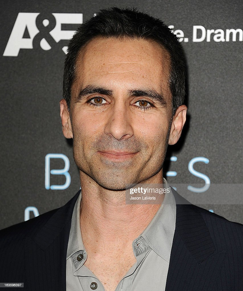 Actor <a gi-track='captionPersonalityLinkClicked' href=/galleries/search?phrase=Nestor+Carbonell&family=editorial&specificpeople=683517 ng-click='$event.stopPropagation()'>Nestor Carbonell</a> attends the premiere of 'Bates Motel' at Soho House on March 12, 2013 in West Hollywood, California.