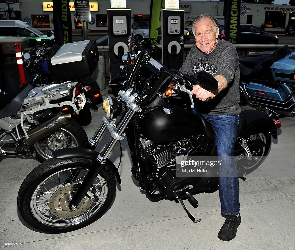 Actor Newell Alexander attends the premiere of 'Easy Rider The Ride Back' Ride-In at Bartels' Harley-Davidson on September 17, 2013 in Marina del Rey, California.