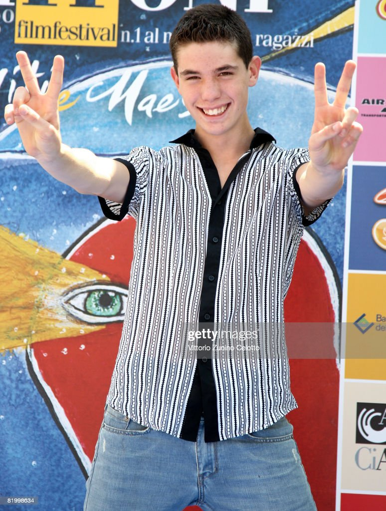 Actor Niccolo Centioni attends the Giffoni Film Festival on July 19, 2008 in Giffoni, Italy.