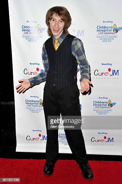 Actor Nicholas Azarian attends the 12th Annual Holiday Toy Drive hosted by CURE JM benefiting Children's Hospital Of Los Angeles at Avalon on...