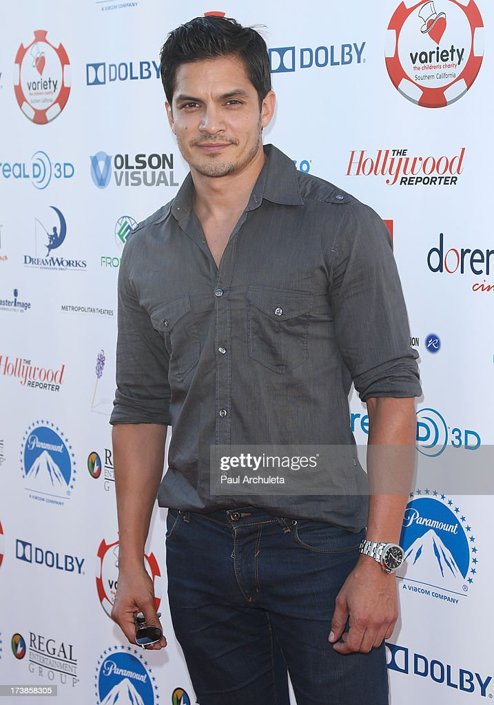 Actor Nicholas Gonzalez attends the 3rd annual Variety Charity Texas Hold 'Em Tournament & Casino Game at Paramount Studios on July 17, 2013 in Hollywood, California.