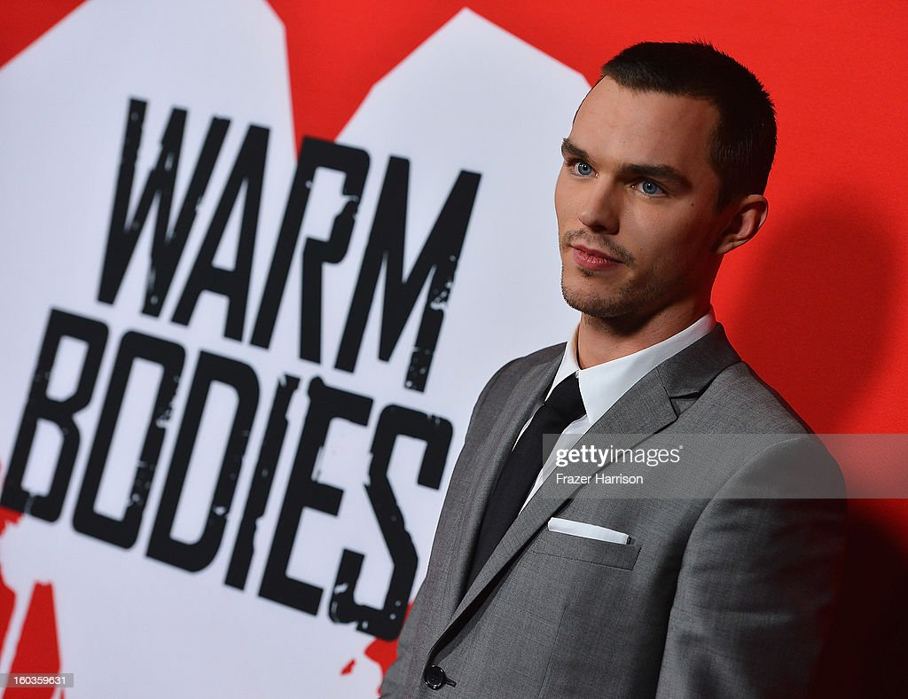 Actor Nicholas Hoult arrives at the premiere of Summit Entertainment's 'Warm Bodies' at ArcLight Cinemas Cinerama Dome on January 29, 2013 in Hollywood, California.