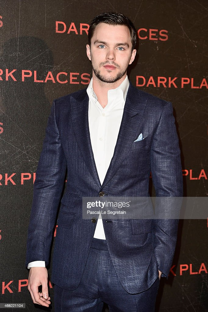 Actor <a gi-track='captionPersonalityLinkClicked' href=/galleries/search?phrase=Nicholas+Hoult&family=editorial&specificpeople=598892 ng-click='$event.stopPropagation()'>Nicholas Hoult</a> attends the 'Dark Places' Paris Premiere at Cinema Gaumont Capucine on March 31, 2015 in Paris, France.