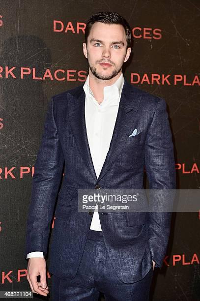 Actor Nicholas Hoult attends the 'Dark Places' Paris Premiere at Cinema Gaumont Capucine on March 31 2015 in Paris France