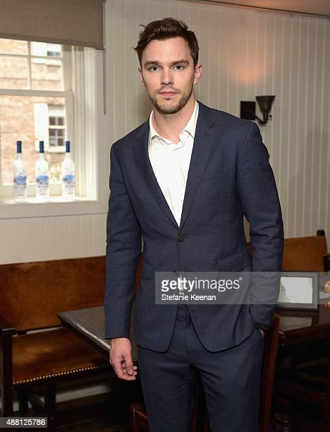 Actor Nicholas Hoult attends the Equals TIFF party hosted by GREY GOOSE Vodka and Soho House Toronto at Soho House Toronto on September 13 2015 in...