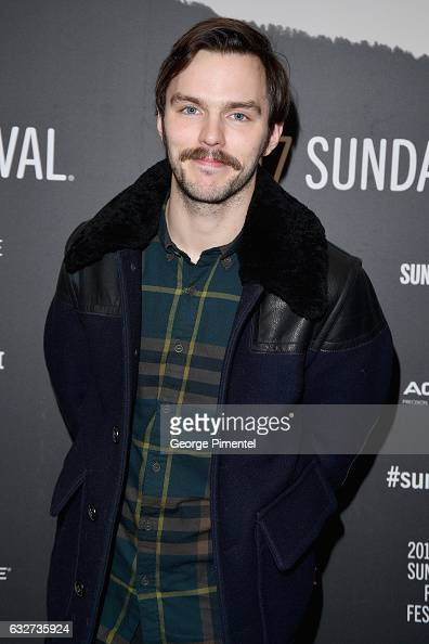 Actor Nicholas Hoult attends the 'Newness' Premiere on day 7 of the 2017 Sundance Film Festival at Eccles Center Theatre on January 25 2017 in Park...