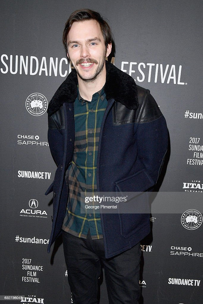 Actor Nicholas Hoult attends the 'Newness' Premiere on day 7 of the 2017 Sundance Film Festival at Eccles Center Theatre on January 25, 2017 in Park City, Utah.
