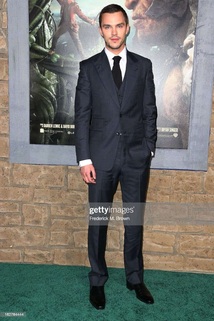 Actor <a gi-track='captionPersonalityLinkClicked' href=/galleries/search?phrase=Nicholas+Hoult&family=editorial&specificpeople=598892 ng-click='$event.stopPropagation()'>Nicholas Hoult</a> attends the Premiere Of New Line Cinema's 'Jack The Giant Slayer' at the TCL Chinese Theatre on February 26, 2013 in Hollywood, California.