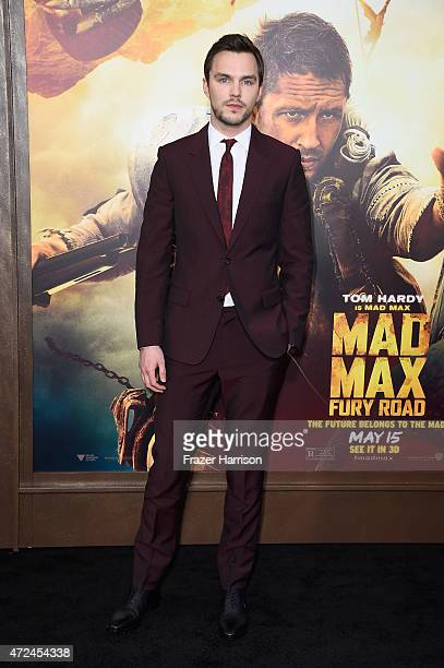 Actor Nicholas Hoult attends the premiere of Warner Bros Pictures' 'Mad Max Fury Road' at TCL Chinese Theatre on May 7 2015 in Hollywood California