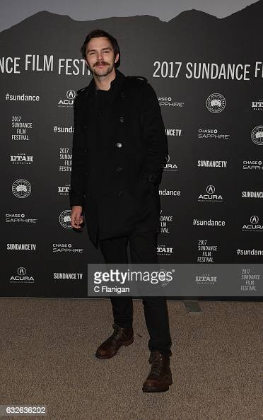 Actor Nicholas Hoult attends the 'Rebel In The Rye' Premiere on day 6 of the 2017 Sundance Film Festival at Eccles Center Theatre on January 24 2017...