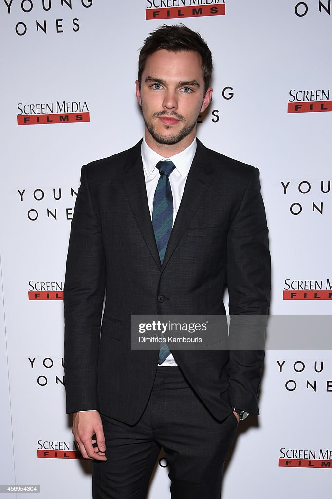 Actor <a gi-track='captionPersonalityLinkClicked' href=/galleries/search?phrase=Nicholas+Hoult&family=editorial&specificpeople=598892 ng-click='$event.stopPropagation()'>Nicholas Hoult</a> attends the 'Young Ones' New York premiere at Sunshine Landmark on October 9, 2014 in New York City.