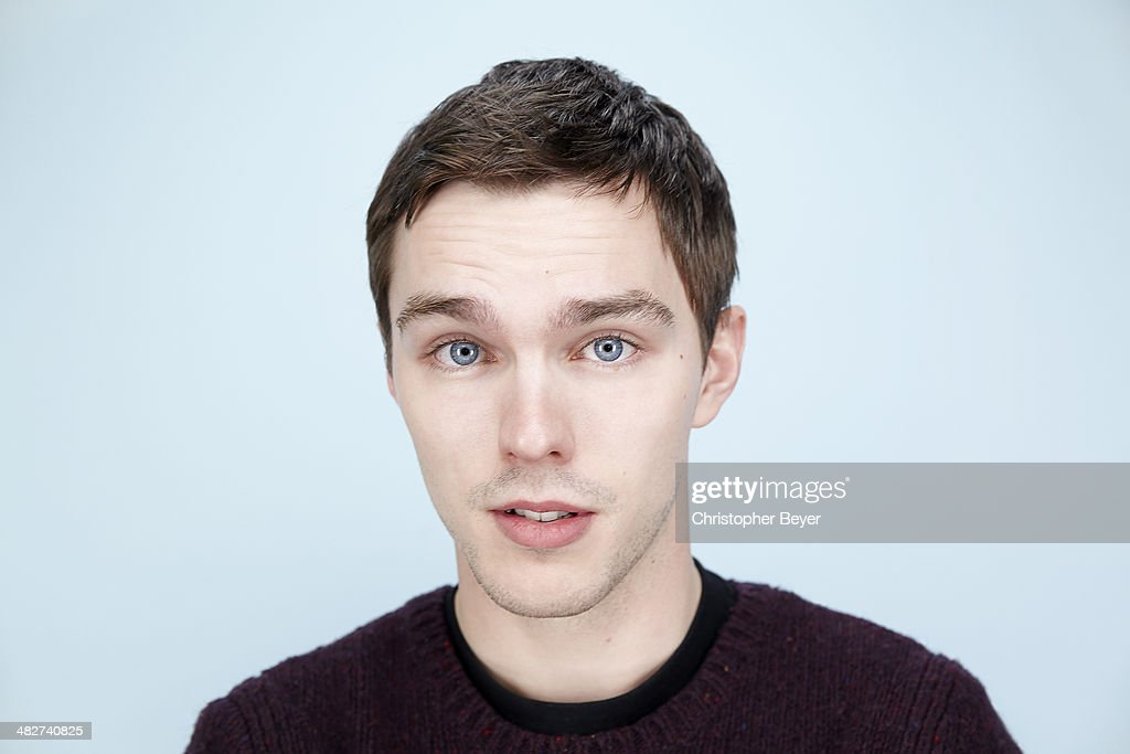 Actor Nicholas Hoult is photographed for Entertainment Weekly Magazine on January 25, 2014 in Park City, Utah.