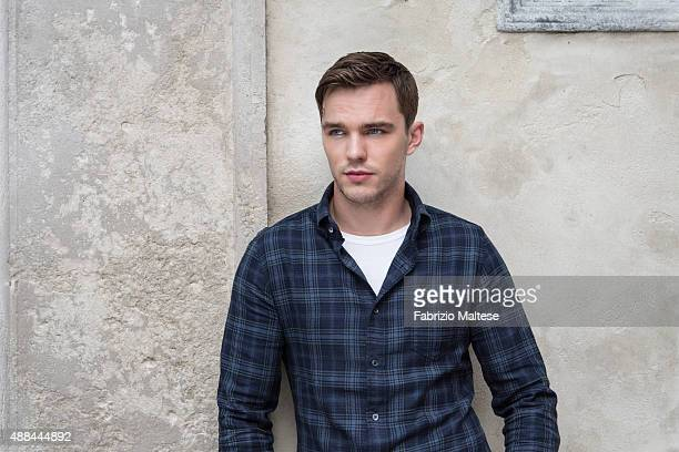 Actor Nicholas Hoult is photographed for The Hollywood Reporter on September 5 2015 in Venice Italy **NO SALES IN USA TILL DECEMBER 16 2015**