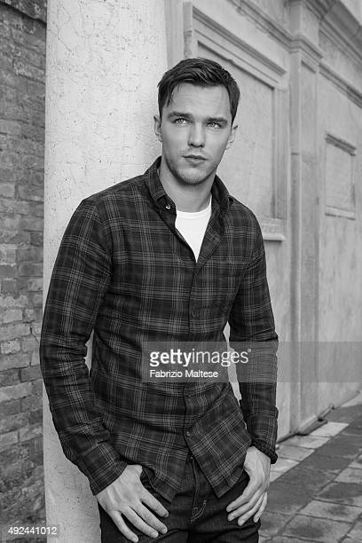 Actor Nicholas Hoult is photographed for The Hollywood Reporter on September 5 2015 in Venice Italy