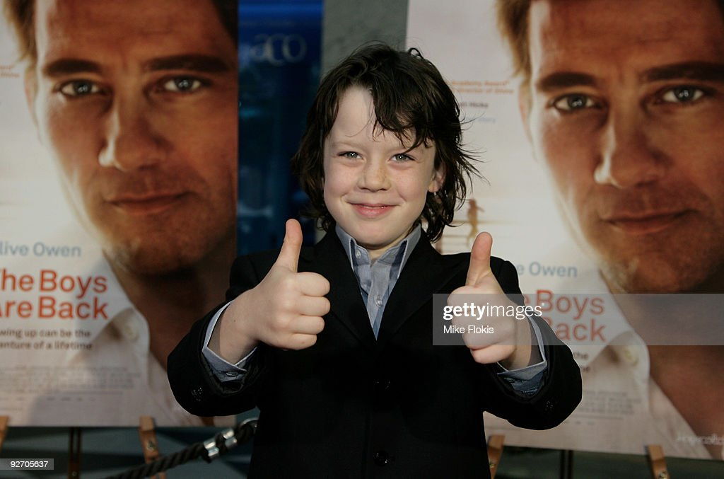 Actor Nicholas McAnulty arrives for the premiere of 'The Boys Are Back' at Dendy Opera Quays on November 4 2009 in Sydney Australia