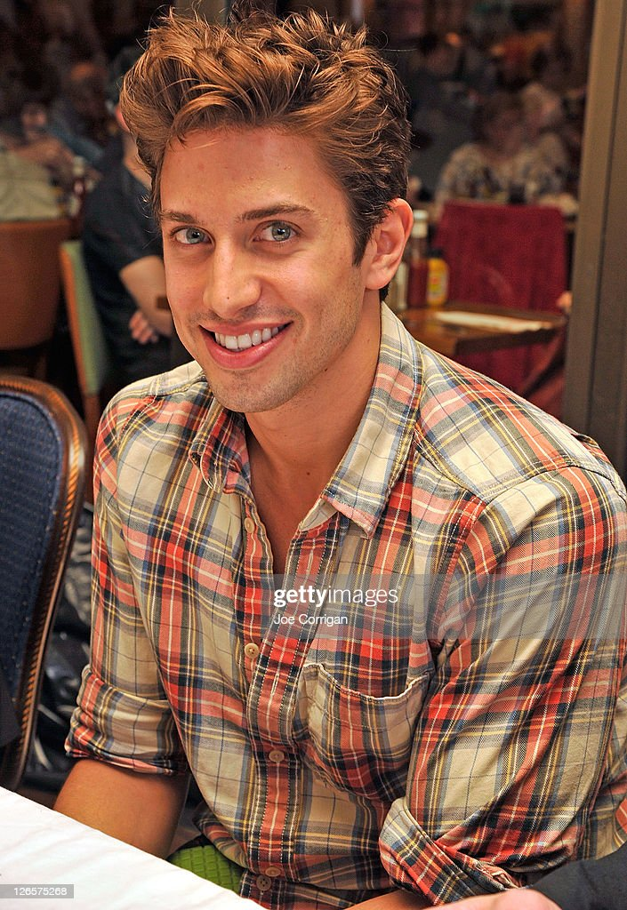 Actor Nick Adams attends the 25th annual Broadway Flea Market at The Bernard B. Jacobs Theatre on September 25, 2011 in New York City.