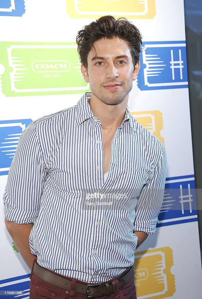 Actor Nick Adams attends the 3rd Annual Summer Party On The Highline on June 11, 2013 in New York City.
