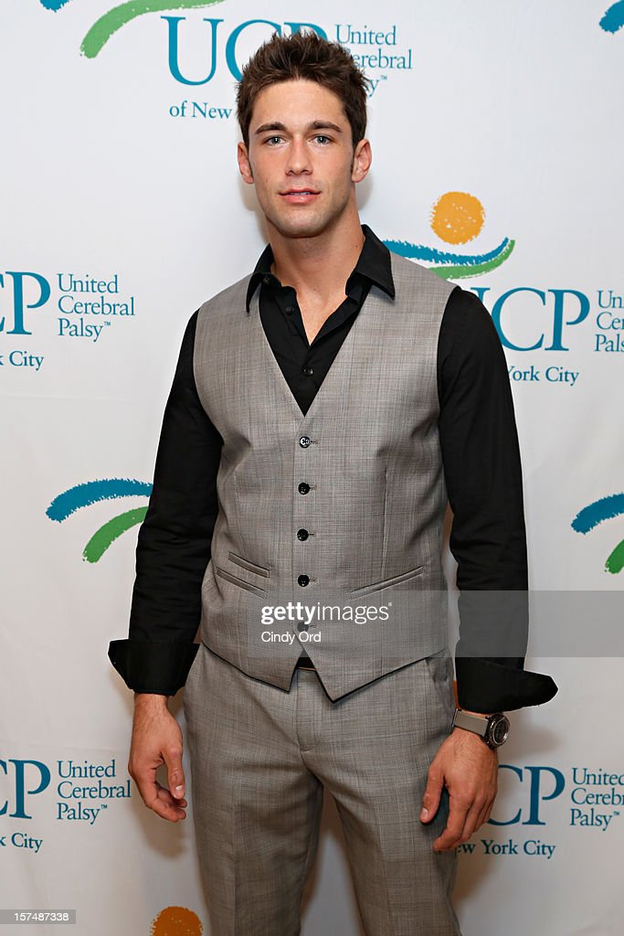 DJ/ actor Nick Ayler attends the Santa Project Party benefiting United Cerebral Palsy Of New York City at Bar Baresco on December 3, 2012 in New York City.