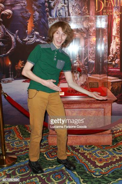 Actor Nick Azarian attends Red Walk special screening of Disney's 'Beauty And The Beast' at El Capitan Theatre on March 23 2017 in Los Angeles...