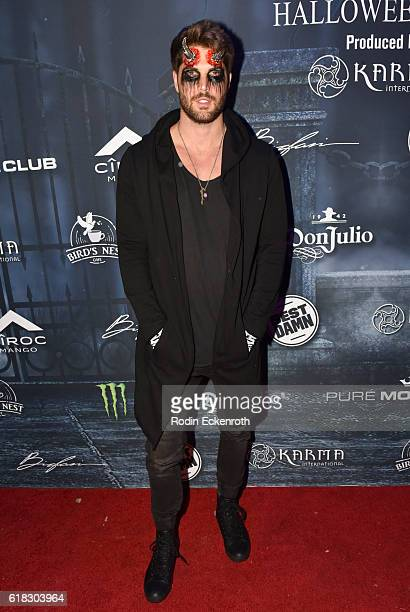 Actor Nick Bateman arrives at MAXIM Halloween at The Shrine Expo Hall on October 22 2016 in Los Angeles California