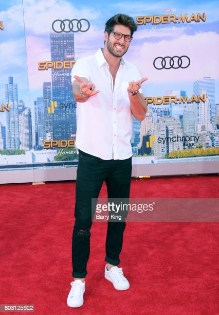 Actor Nick Bateman attends the World Premiere of Columbia Pictures' 'SpiderMan Homecoming' at TCL Chinese Theatre on June 28 2017 in Hollywood...
