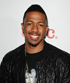 Actor Nick Cannon attends Meghan Trainor's record release party for her debut album 'Title' at Warwick on January 13 2015 in Hollywood California