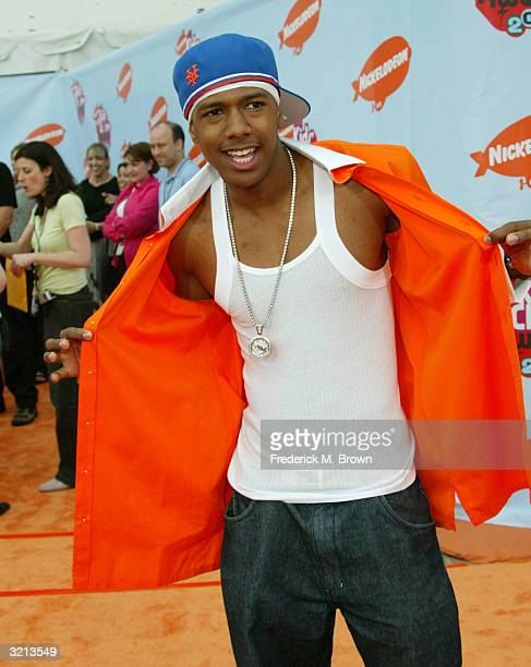 Actor Nick Cannon attends Nickelodeon's 17th Annual Kids' Choice Awards at Pauley Pavilion on the campus of UCLA April 3 2004 in Westwood California