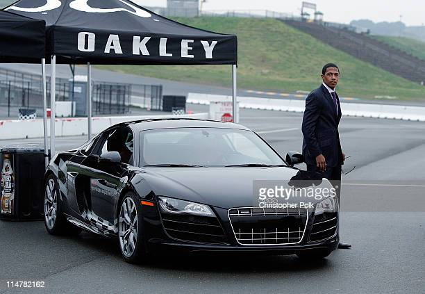 Actor Nick Cannon attends Oakley Presents 'Learn to Ride' with the Audi Sportscar Experience fueled by Muscle Milk at Infineon Raceway on December 16...