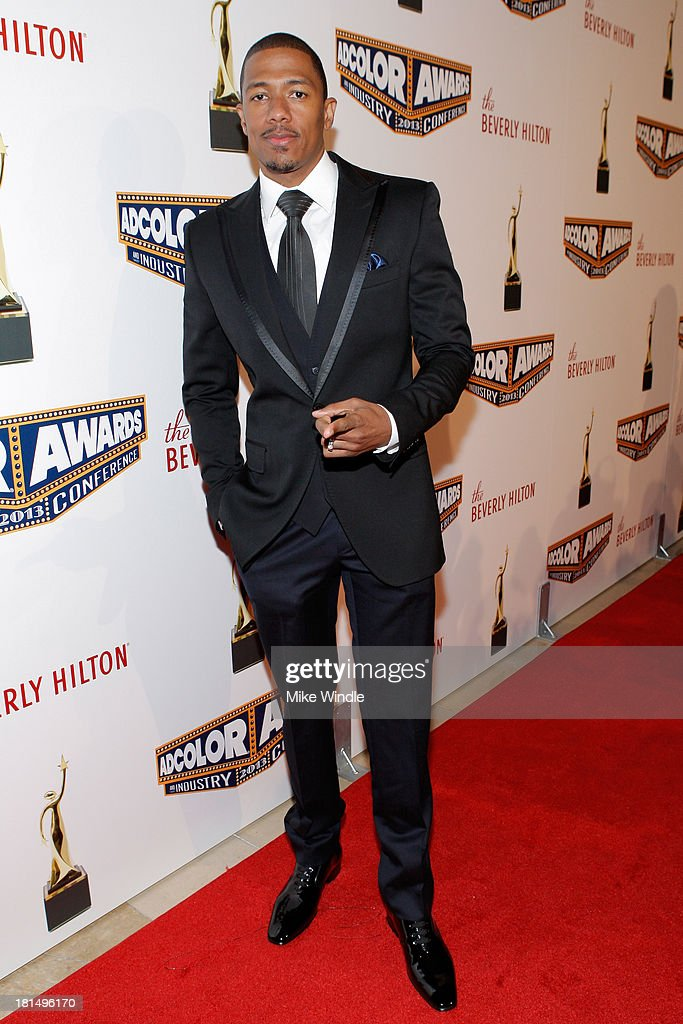 Actor <a gi-track='captionPersonalityLinkClicked' href=/galleries/search?phrase=Nick+Cannon&family=editorial&specificpeople=202208 ng-click='$event.stopPropagation()'>Nick Cannon</a> attends the ADCOLOR Awards at The Beverly Hilton Hotel on September 21, 2013 in Beverly Hills, California.