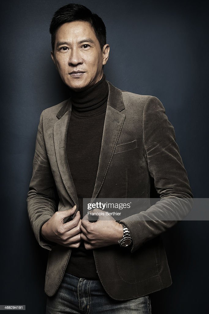Actor Nick Cheung by Photographer Francois Berthier for the Contour Collection poses at the Ritz Carlton Hotel during the 64th Berlinale International Film Festival on February 9, 2014 in Berlin, Germany.
