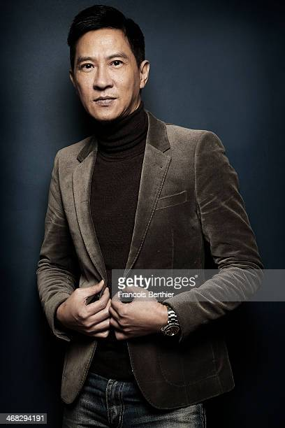 Actor Nick Cheung by Photographer Francois Berthier for the Contour Collection poses at the Ritz Carlton Hotel during the 64th Berlinale...