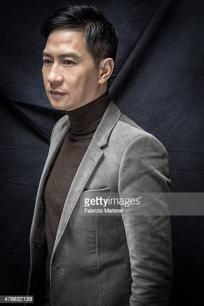 Actor Nick Cheung is photographed for Self Assignment on February 10 2014 in Berlin Germany
