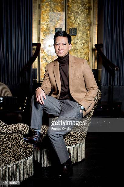 Actor Nick Cheung poses for the 'The White Storm' Portrait Sesssion during The 8th Rome Film Festival on November 17 2013 in Rome Italy