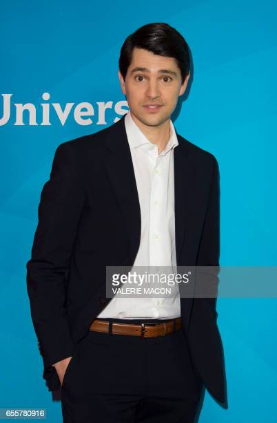 Actor Nick D'Agosto of 'Trial and Error' arrives at the NBC Universal Summer Press Day at the Beverly Hilton on March 20 Beverly Hills California /...